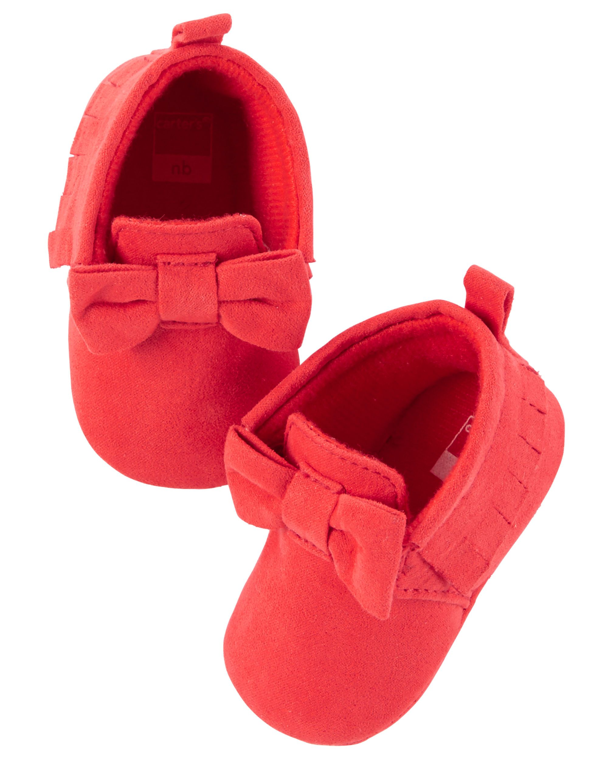 d5bf5e10b Baby Girl Carter s Moccasin Crib Shoes