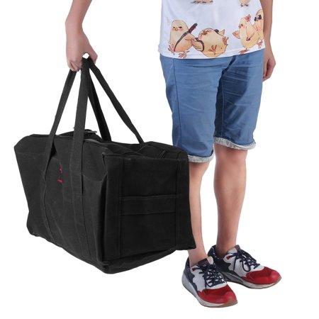 Black Large Capacity Casual Men bags Military Canvas Gym Duffle Shoulder Bag  for men Zipper Luggage Handbags For Travel Business Sports e5ec8a65b7f64