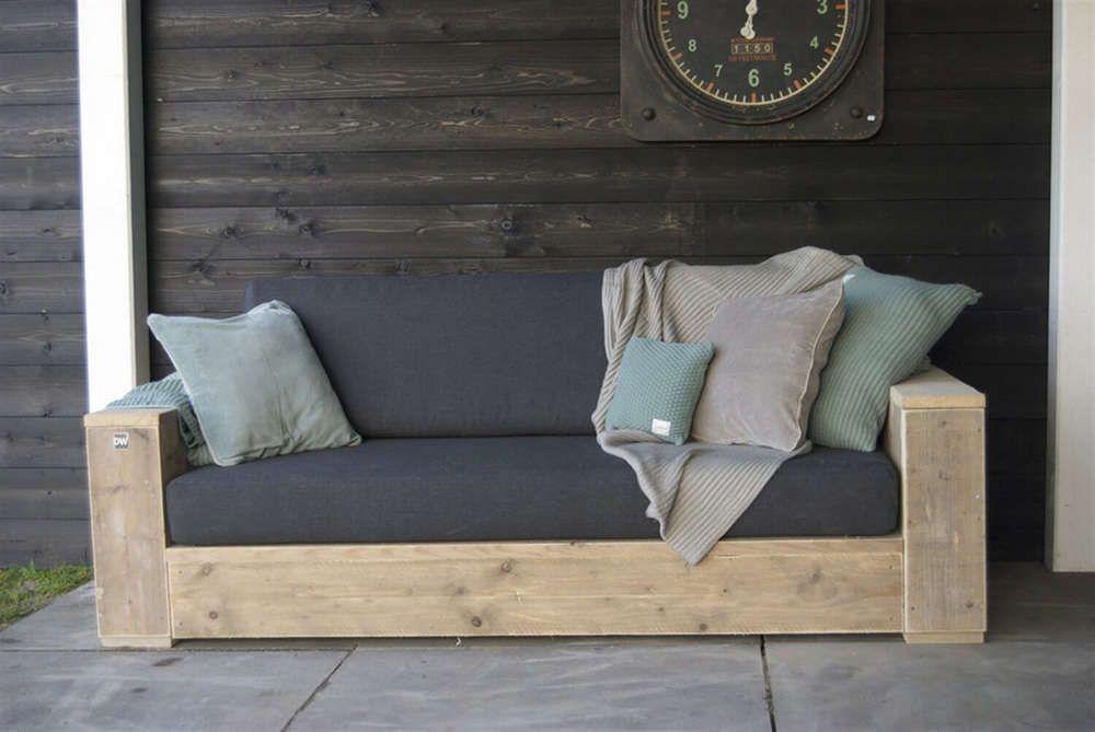 Xxl Bank Gartensofa Balkon Dekor Lounge Sofa Garten