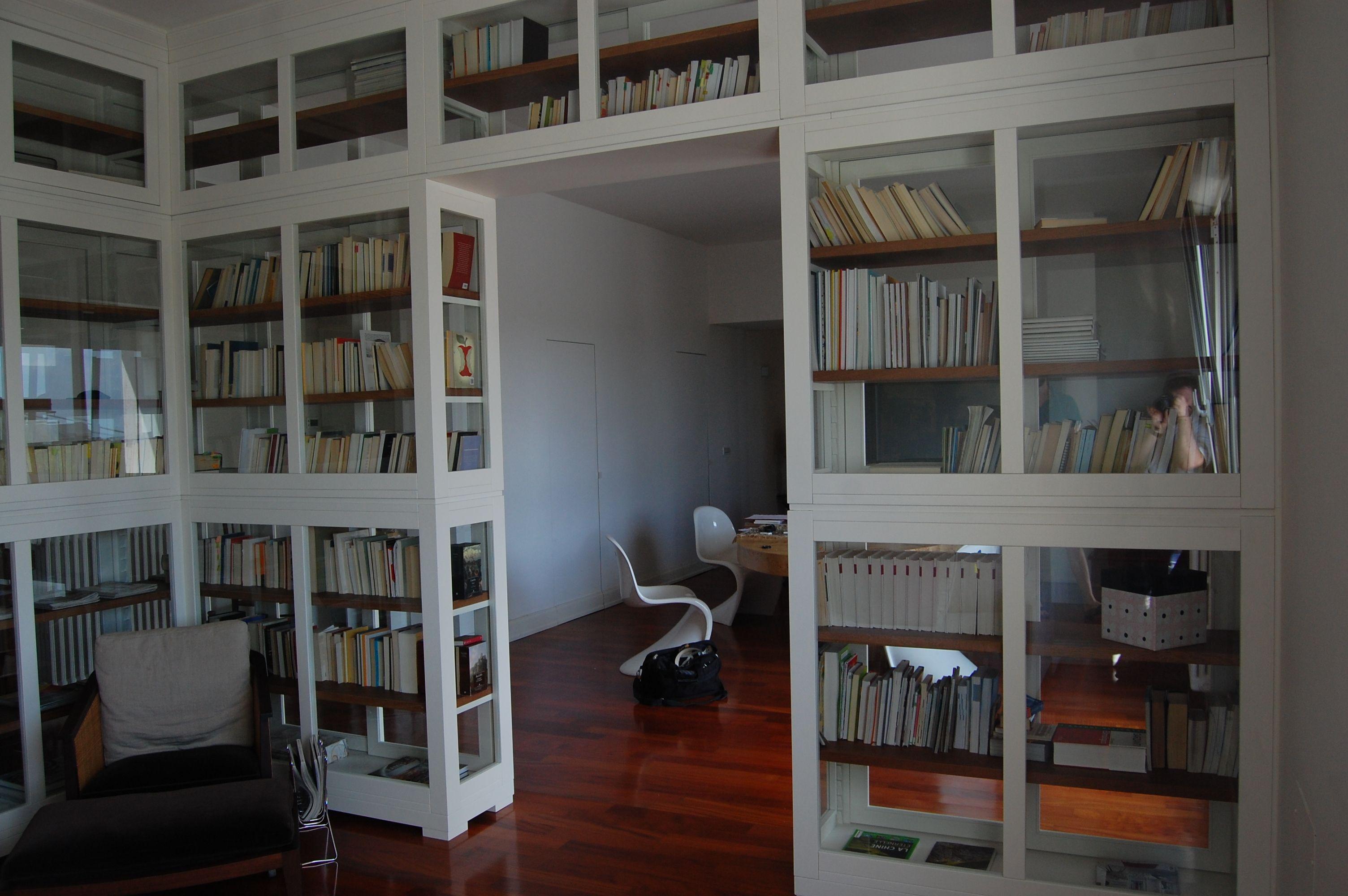 Libreria su misura realizzata da rossi arredamenti di for Arredamenti rossi