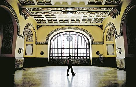the Haydarpaşa Railway Station, was built 106 years ago during the reign of Ottoman Sultan Abdülhamid II.  The station was built by German architects Otto Ritter and Helmuth Cuno, as the starting point of the Istanbul-Baghdad, or Hejaz railway.