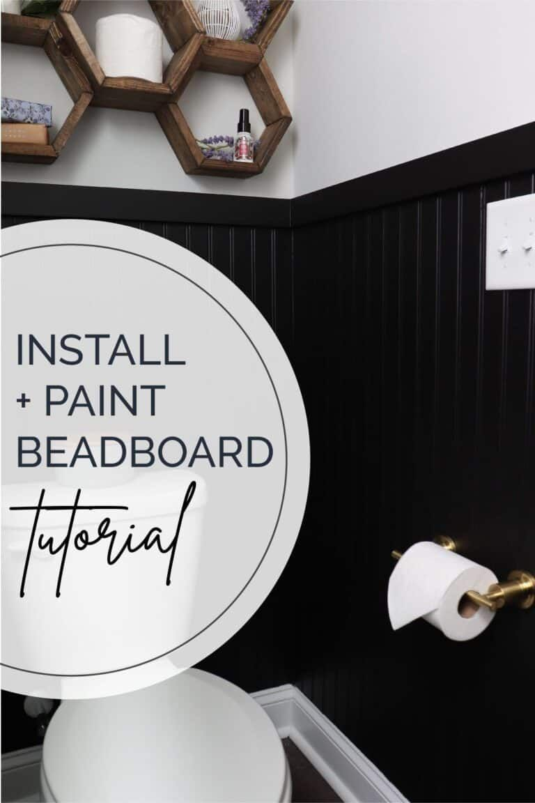 How To Install Beadboard Without Removing Baseboards In 2020 How To Install Beadboard Beadboard Removing Baseboards