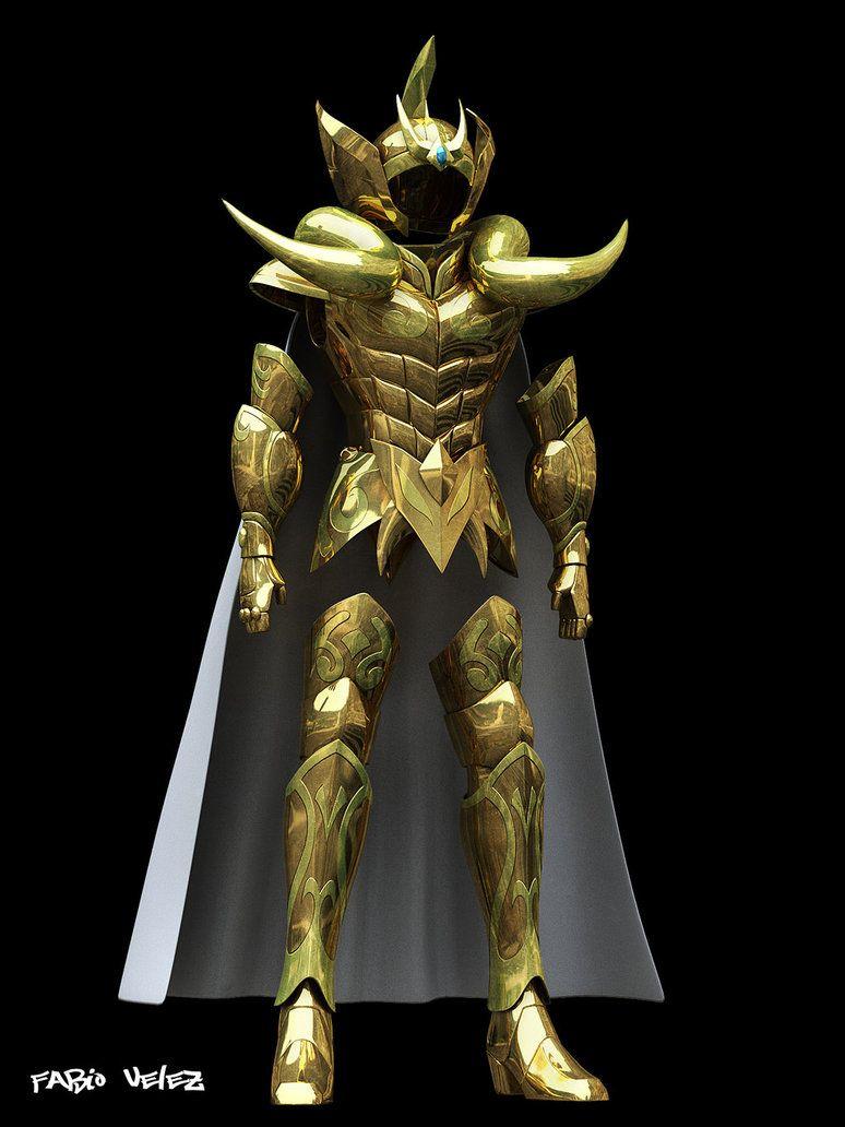 armadura de aries 3d