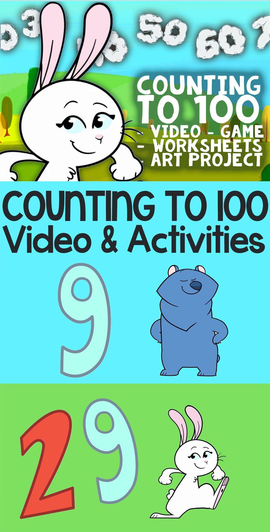 Counting to 100: Activities and Song for Kindergarten ☆ Activities ...