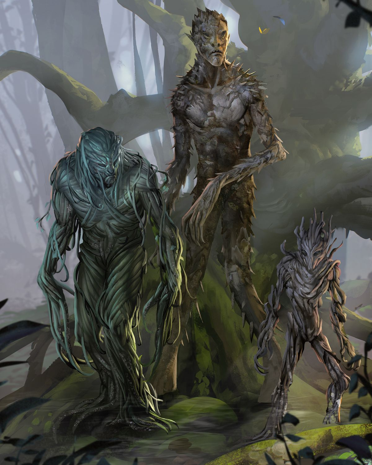 Blight From The D D Fifth Edition Monster Manual Art By Conceptopolis Fantasy Monster Forest Creatures Monster