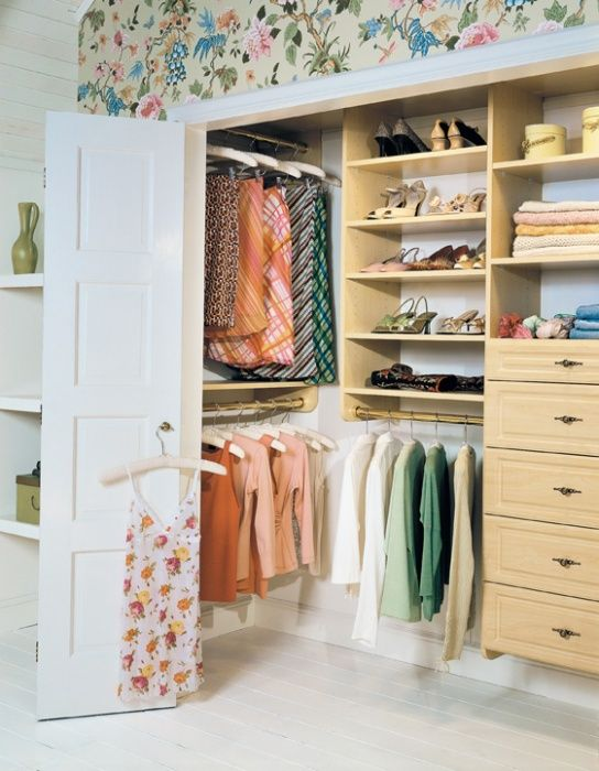 Closet In Attic | Attic Closet | California Closets Good Idea For Using The  Dead Space In The Corner. The Other Corner Could Be Shelves