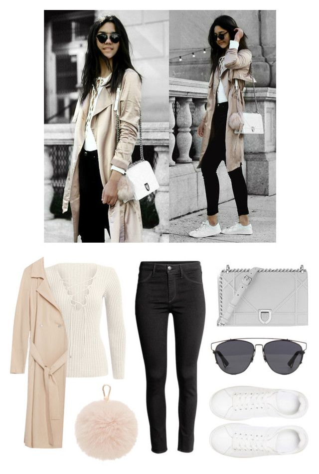 """""""outfit instagram @Florencia95"""" by florencia95 ❤ liked on Polyvore featuring Zara, H&M, Anine Bing, Christian Dior, Furla, ootd and BloggerStyle"""