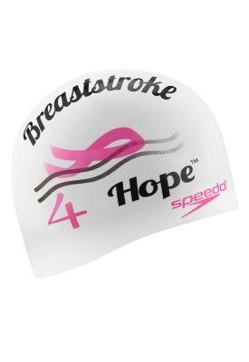 Breaststroke 4 Hope™ Silicone Cap - Swim Caps - Speedo USA Swimwear ... 5878c5a34e3