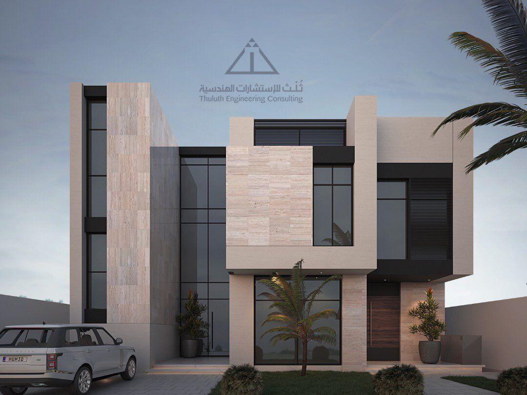 ث لث On Twitter Residential Architecture Apartment Modern House Exterior Duplex House Design