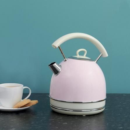 Traditional Pink Kettle Dunelm Candy Rose Traditional