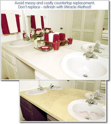 Bathroom Vanity Refinishing Is Often The Best Option For Tile