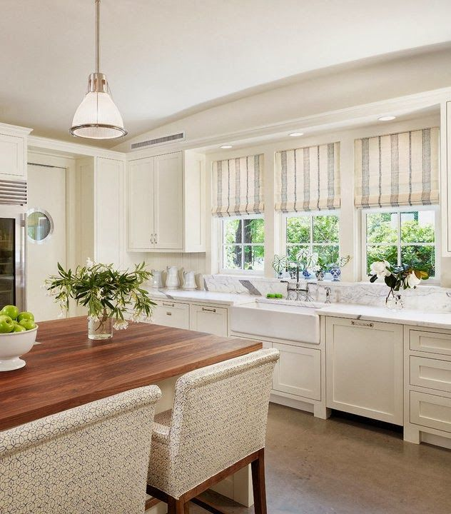 Kitchen Blinds And Shades: Things We Love: Roman Shades