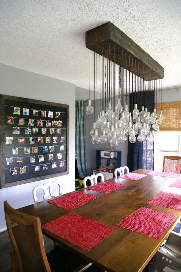 South Barrington Dining Room Project: Need Some Inspiration For Your Dining Room? This Light Is