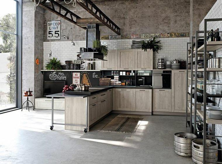 Cuisine style industriel : une beauté authentique | Industrial ...