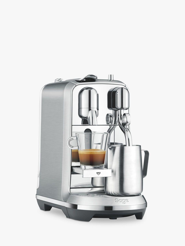 Nespresso Creatista Plus Coffee Machine by Sage, Stainless ...