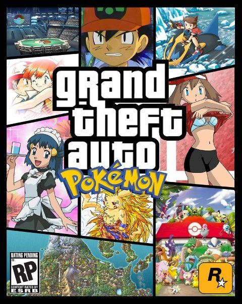 Grand Theft Auto Pokemon!
