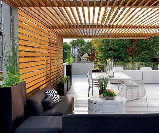 dach z desek nad tarasem pergola pinterest pergolas. Black Bedroom Furniture Sets. Home Design Ideas