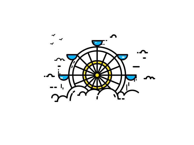 Ferris Wheel Mini Drawings Instagram Logo Instagram Highlight Icons