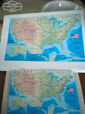Print Your Own Map Mark Your Travels Link To Free Printable USA - World map to mark your travels