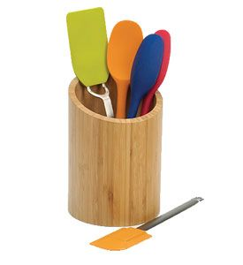 Charmant Bamboo Kitchen Tool Holder