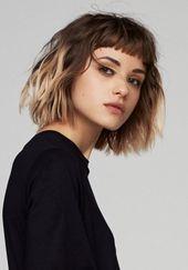 10 Trendy Messy Bob Frisuren, weibliche Frisur für kurze Haare – Frisuren Mod…