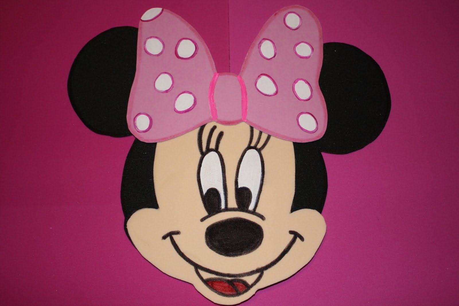 graphic regarding Minnie Mouse Template Printable named no cost minnie mouse printables Free of charge Down load Minnie Mouse