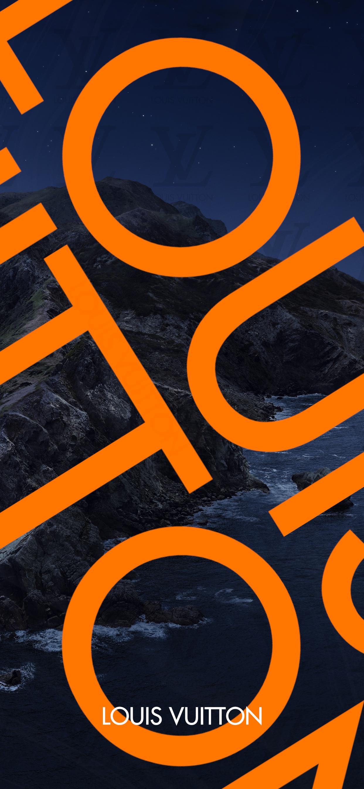 LOUIS_VUITTON iPhone X Ratio Series Wallpaper 배경화면, 아이폰
