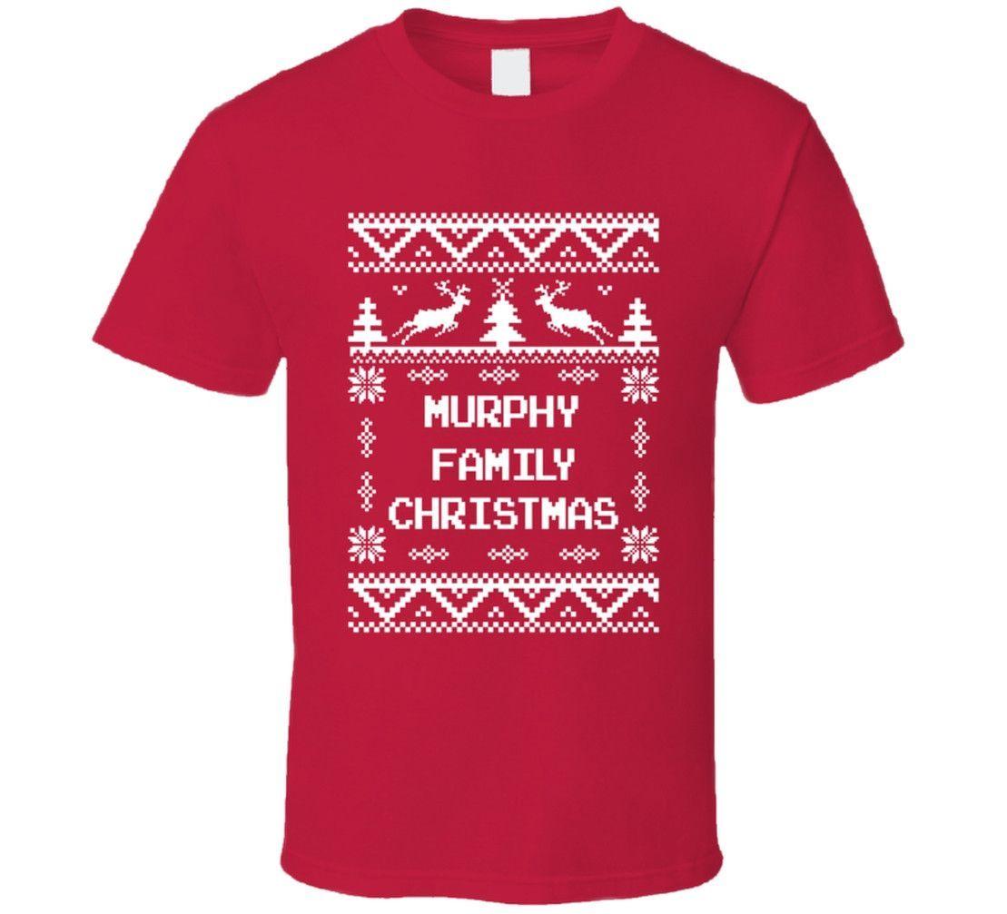 Unisex Murphy Family Christmas Ugly Sweater T-Shirt