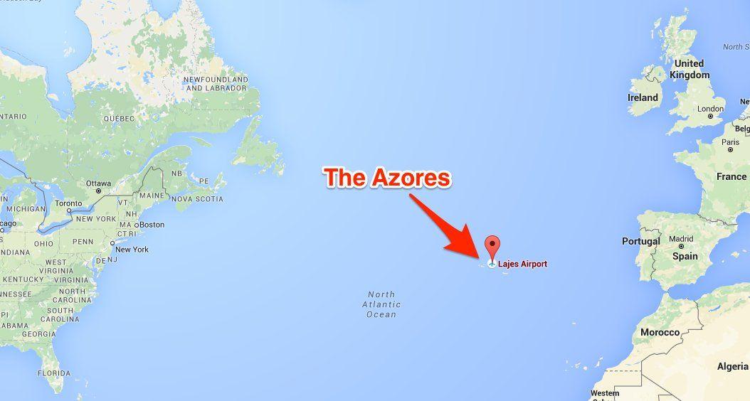 Resultado de imagem para azores map | Azore Islands, my ...