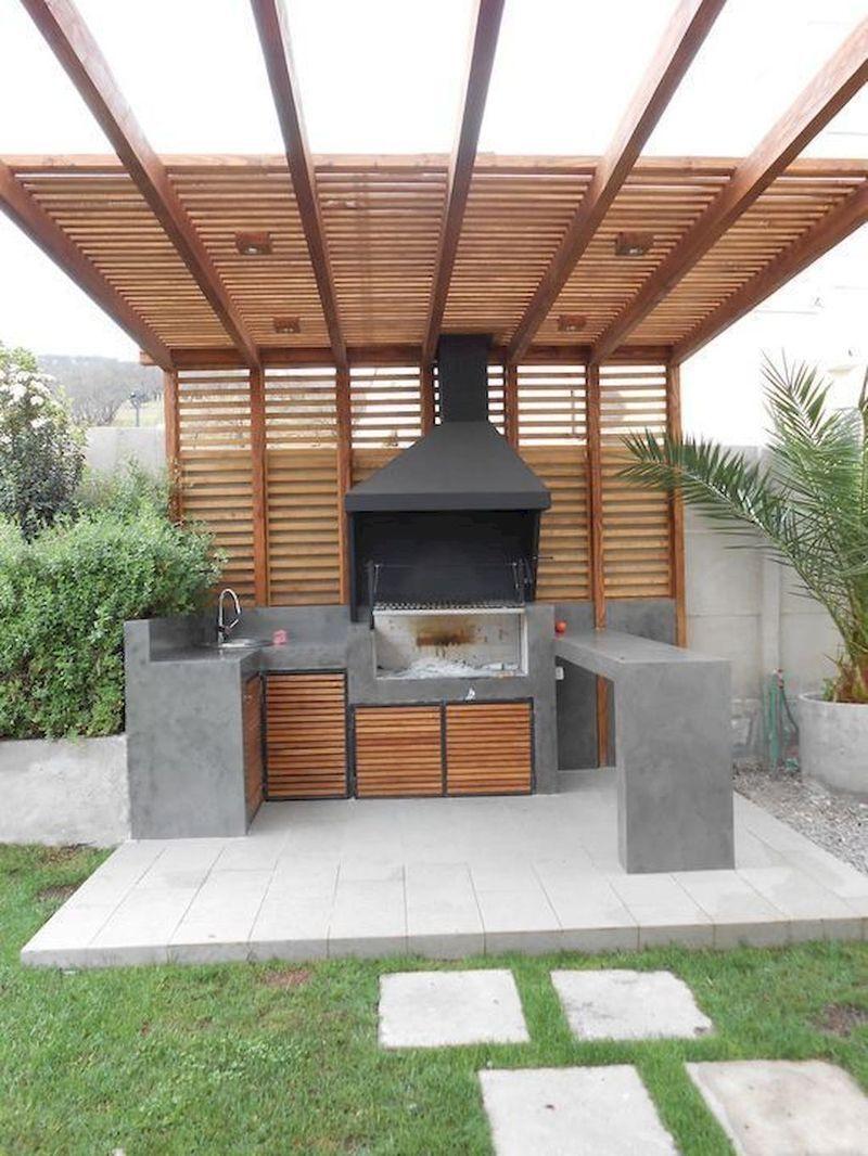 30 Minimalist Outdoor Kitchens Design On A Budget