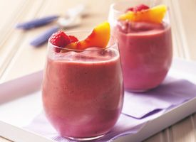 Dannon Tropical Berry Smoothie - good drink recipes