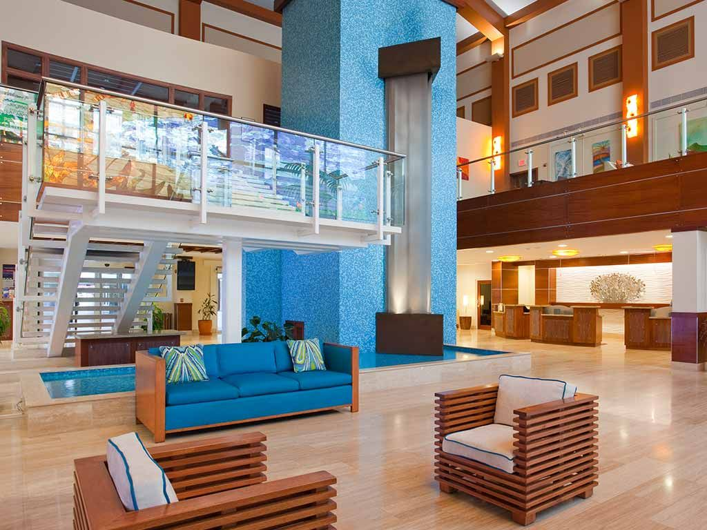 Lobby of La Cabana Beach Resort u0026