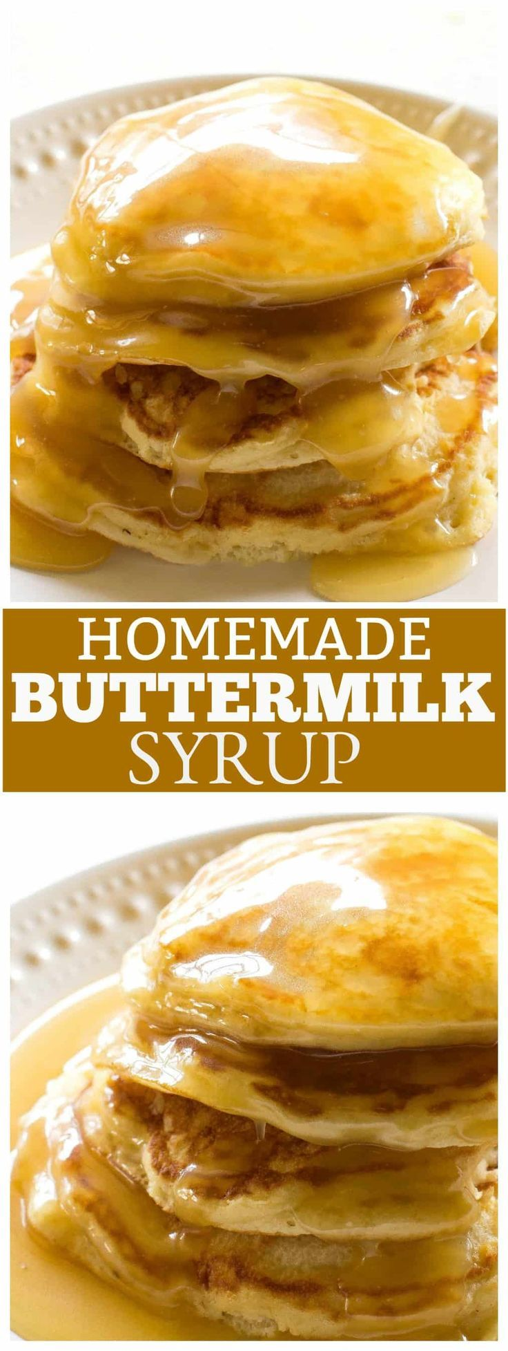 Homemade Buttermilk Syrup The Girl Who Ate Everything Recipe Buttermilk Syrup Homemade Buttermilk Buttermilk