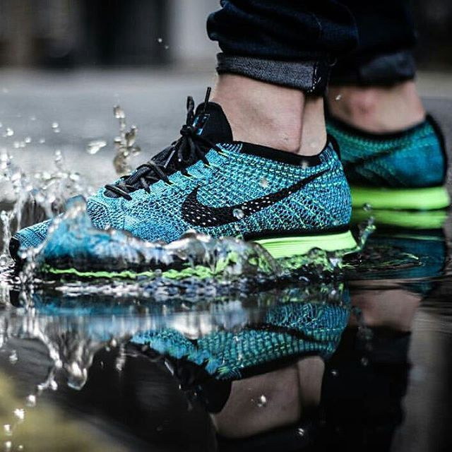 6927180f6e78 Nike Flyknit Racer  Blue Lagoon