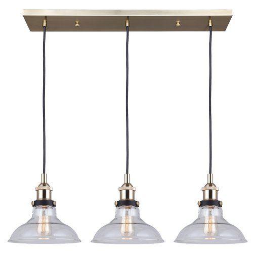 Found It At Wayfair Capuano 3 Light Kitchen Island Pendant Adjustable Pendant Light Pendant Light Fixtures Multi Light Pendant
