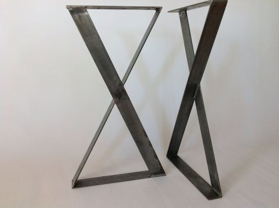 Raw Steel Table Legs