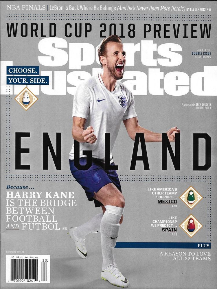 Sports Illustrated Magazine Soccer World Cup Preview England Nba Finals Sports Illustrated Sports World Cup