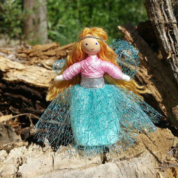 Fairy Doll - Fairy Garden - Fairy Wings - Waldorf Fairy - Bendy Doll ...