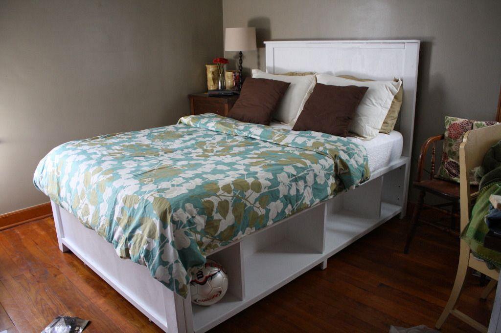 25 best diy plywood bed frame designs with storage bed