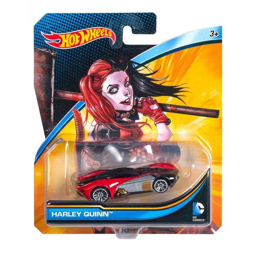 Hw hot wheels 2015 hw city 48 250 canyon carver police motorcycle - Hot Wheels Dc Comics Harley Quinn Free Postage Seller Is A Hotwheels Collector
