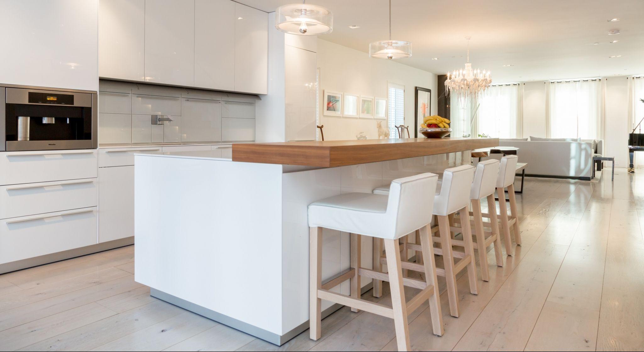 White Oak Hardwood Flooring Kitchen Hardwood floors in