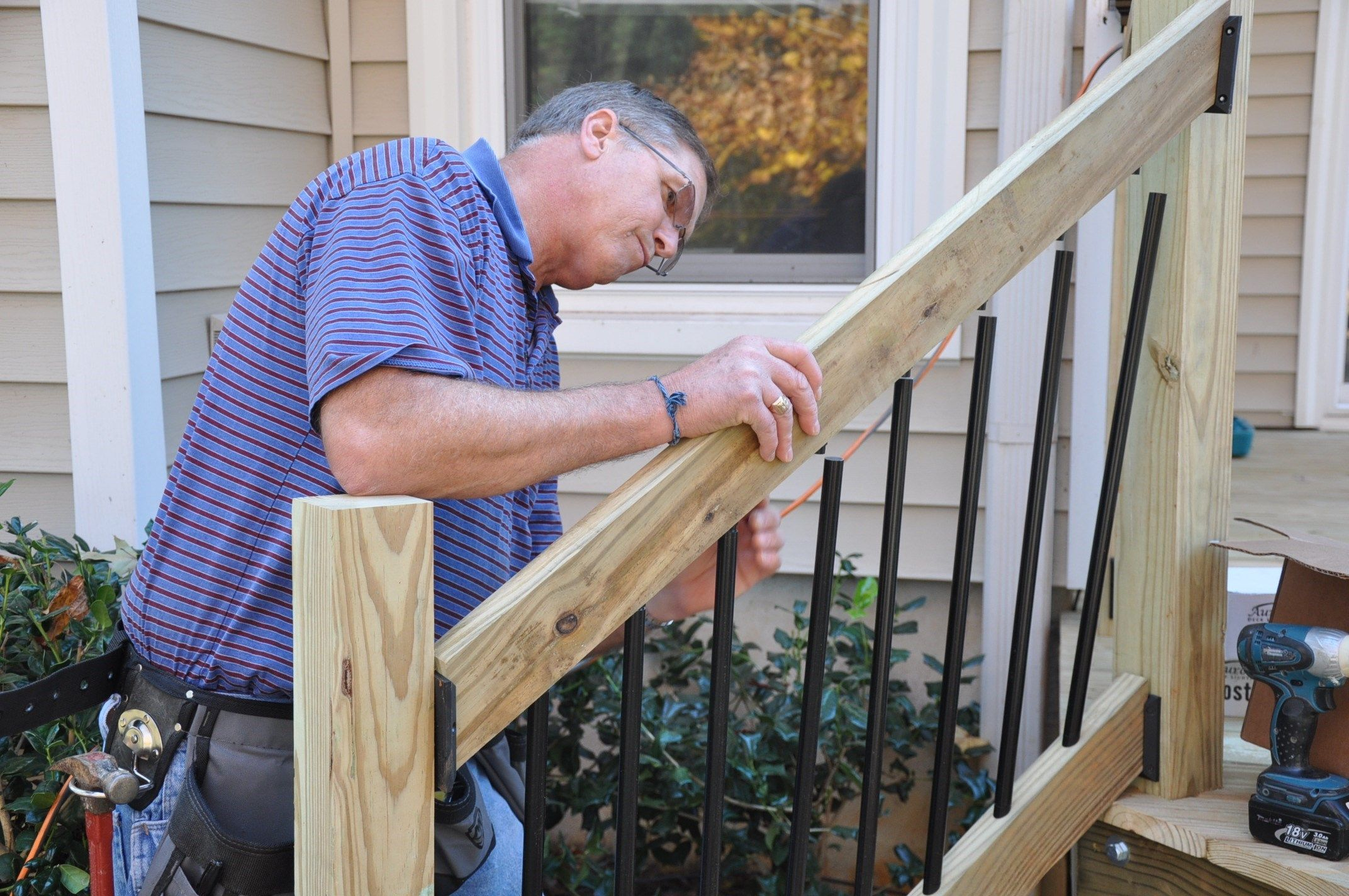 Best Step By Step Instructions For How To Install Deck Stair 400 x 300