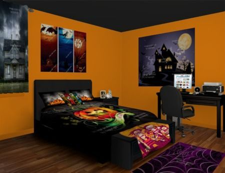 Halloween Wall Murals celebrate the ghosts and costumes Come see