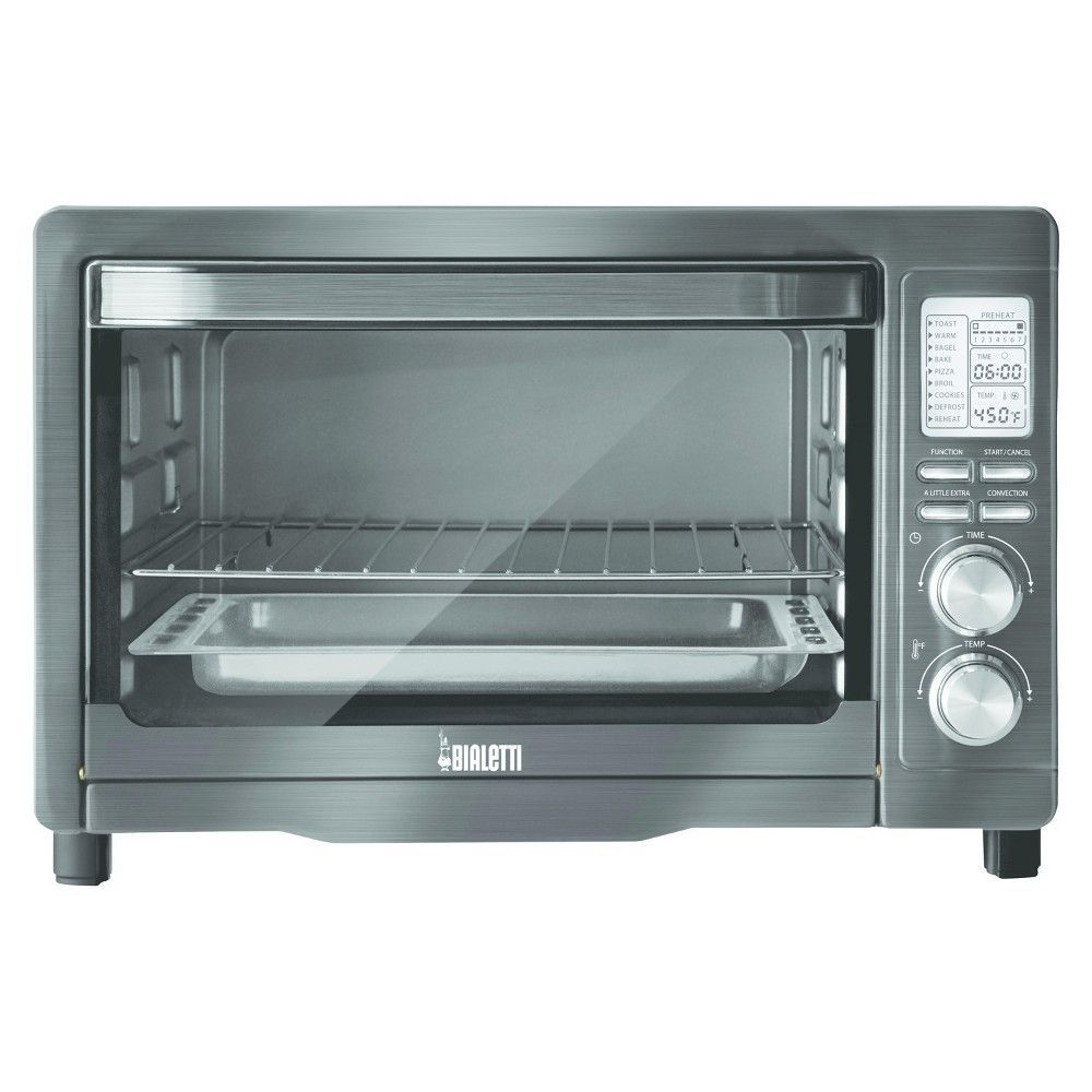 Bialetti Digital Black Stainless Toaster Oven | Toasters, Ovens ...