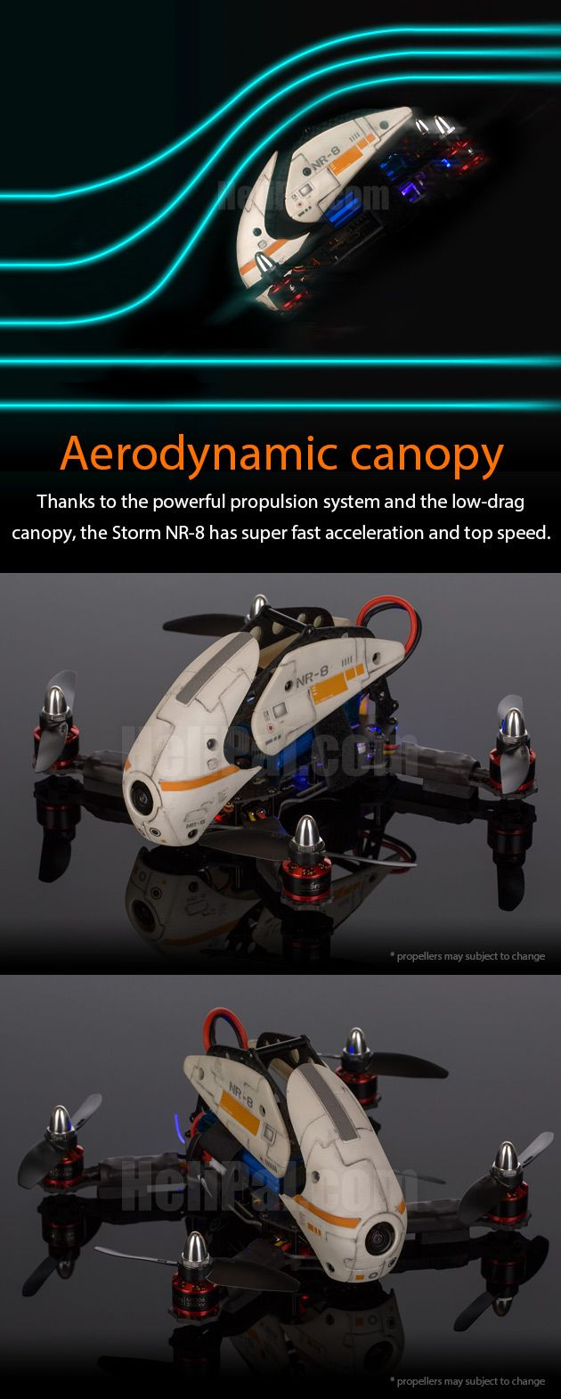 STORM Racing Drone (RTF / NR-8) http://www.helipal.com/storm-racing-drone-rtf-nr-8.html