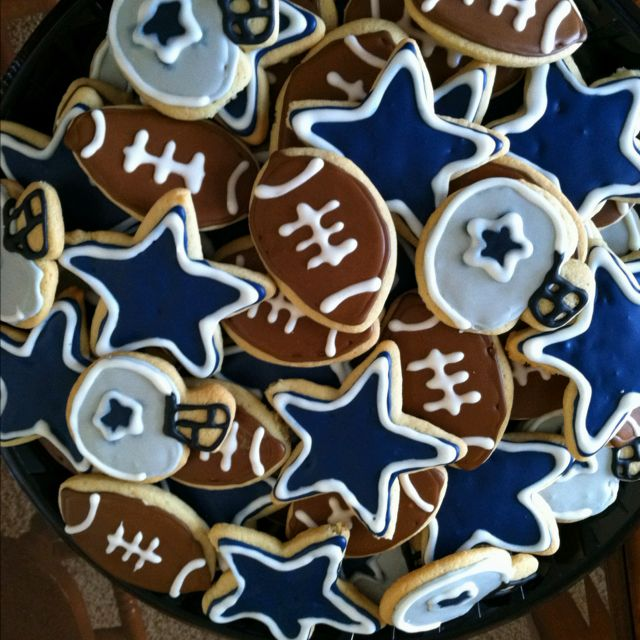Dallas Cowboy Cookies Sugar Cookie Designs Cookies