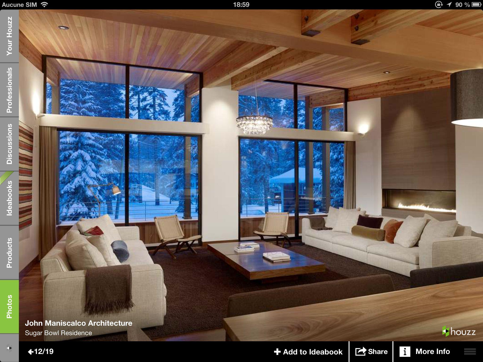 plafond bois p le avec poutres apparentes plafond. Black Bedroom Furniture Sets. Home Design Ideas