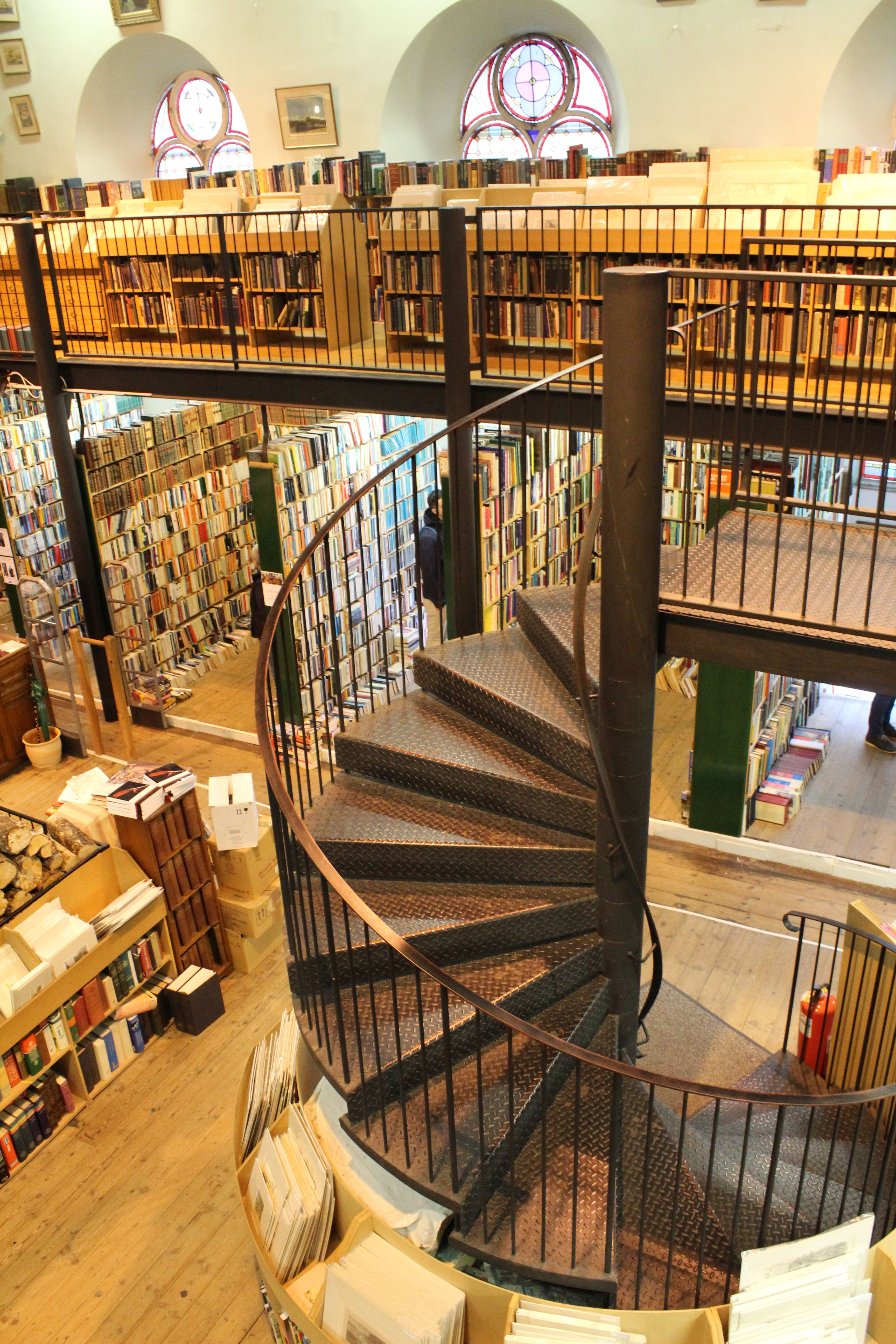 Leakey S Book Shop The Harry Potter S Library In Hogwarts Inverness Scotland Visit Scotland Places In Scotland