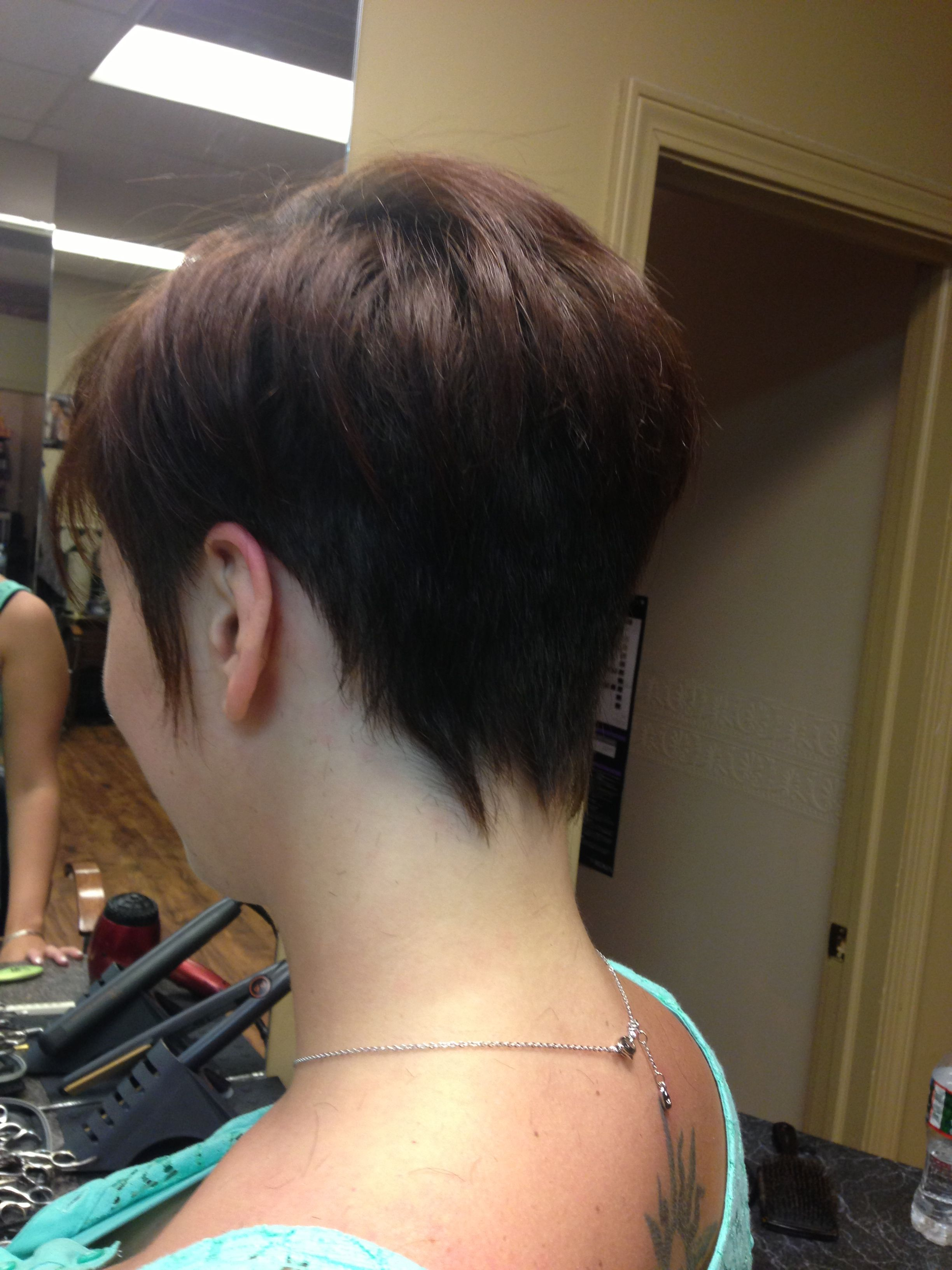 Short Hair Punky Back Of Head