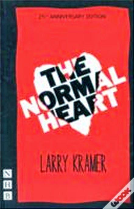 A peça que inspirou o telefilme que me fez chorar. No Literatura de Mulherzinha: The Normal Heart, Larry Kramer – http://livroaguacomacucar.blogspot.com.br/2014/12/cap-957-normal-heart-larry-kramer.html